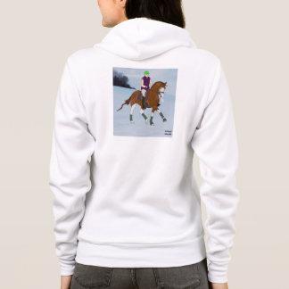 Tshirt Cavalo calvo de Warmblood da cara
