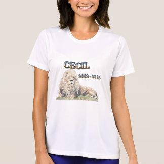 Tshirt Cecil o leão