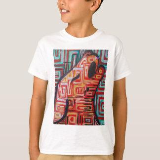 Tshirt Chacal abstrato