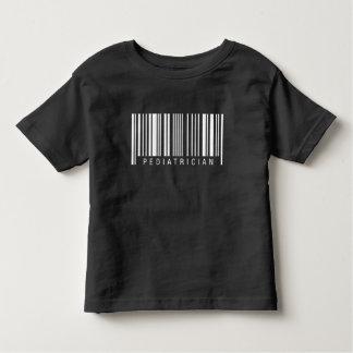 Tshirt Código de barras do pediatra