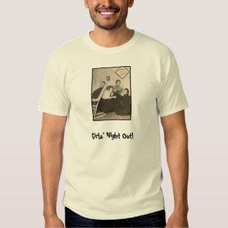 Tshirt com foto do vintage, provérbio