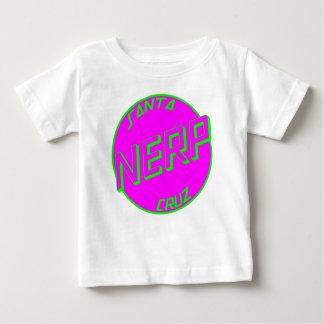Tshirt cor-de-rosa da criança de Nerp