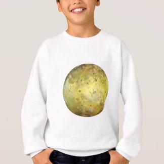 Tshirt Cor verdadeira do IO da LUA de JUPITER do PLANETA