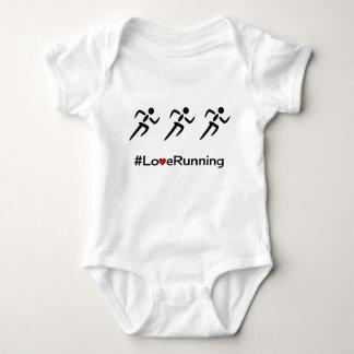 Tshirt Corredores Running do slogan do amor