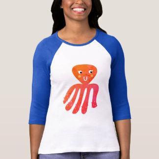 Tshirt criativo com polvo/NOVO NA LOJA