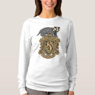 Tshirt Crista de Harry Potter | Hufflepuff com texugo