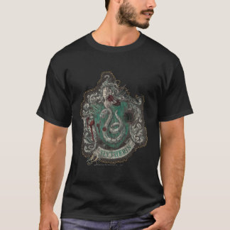 Tshirt Crista de Harry Potter | Slytherin - vintage