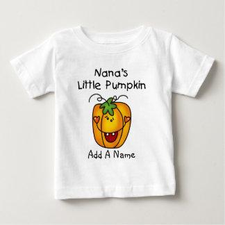 Tshirt da abóbora de Nana personalizada pouco