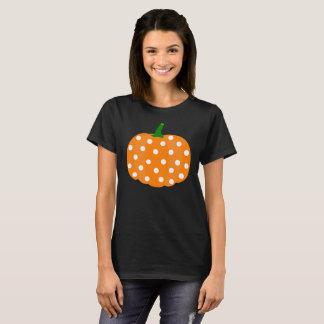Tshirt da abóbora para o Dia das Bruxas e a acção