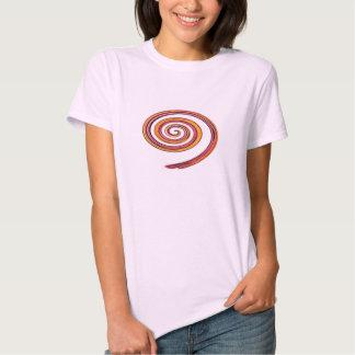Tshirt da arte abstracta do redemoinho