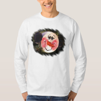 Tshirt da cara do boneco de neve