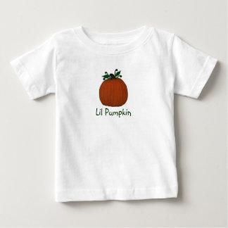 Tshirt da criança do bebê da abóbora de Lil