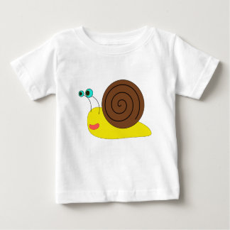 TShirt da criança do caracol