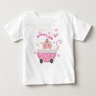 Tshirt da criança do carrinho de bebê da menina da