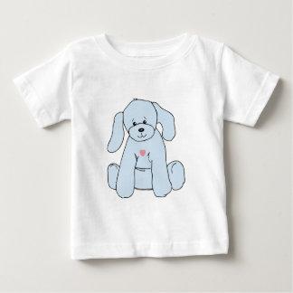 Tshirt da criança do filhote de cachorro dos azuis