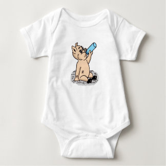 Tshirt da criança do porco do bebê