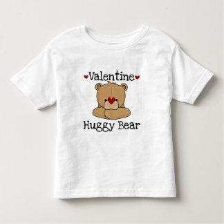 Tshirt da criança do urso de Huggy dos namorados