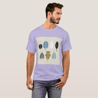 Tshirt da lavanda dos homens com ervas