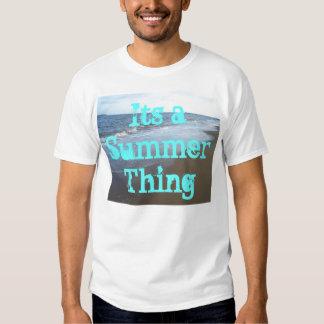 Tshirt da praia do oceano seu uma coisa