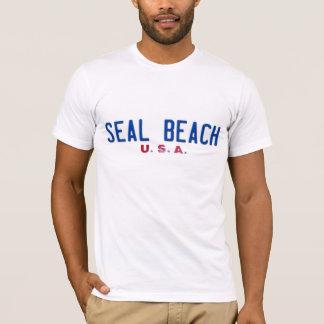 TShirt da praia do selo