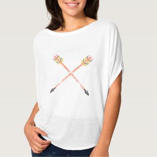 Tshirt da seta da aguarela