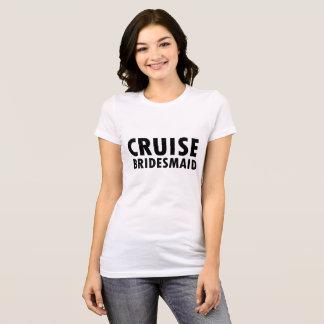 Tshirt Dama de honra do cruzeiro