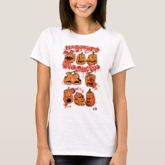 Tshirt das abóboras do Dia das Bruxas de 2014