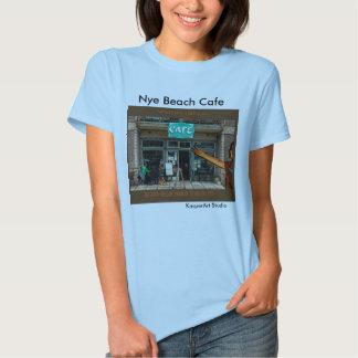 TShirt das senhoras do café da praia de Nye