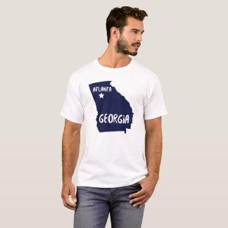Tshirt de Atlanta do estado de Geórgia