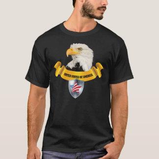 TShirt de Eagle dos Estados Unidos da América