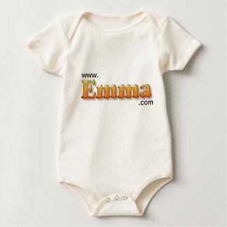 tshirt de emma do bebê