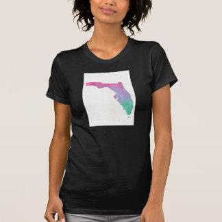 Tshirt de Florida da aguarela