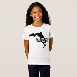 Tshirt de Miami do estado de Florida