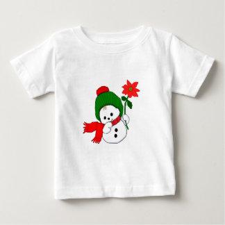 Tshirt de Snowbaby do boneco de neve