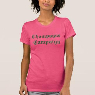 """Tshirt De """"t-shirt da campanha Champagne"""""""