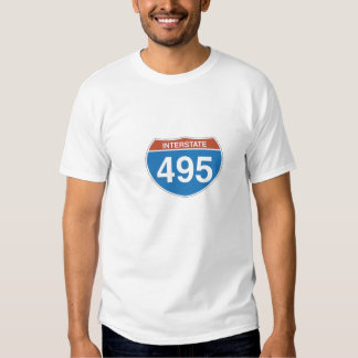 Tshirt de um estado a outro de 495 homens