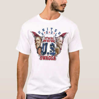 Tshirt de USswagga Obama Biden