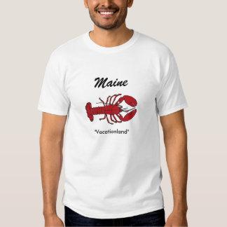 Tshirt de Vacationland do estado de Maine