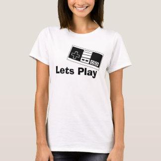 Tshirt Deixa o jogo