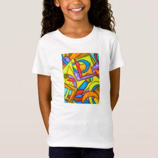 Tshirt Depois das instruções - o T do miúdo da arte