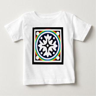 Tshirt Design abstrato das folhas da flor