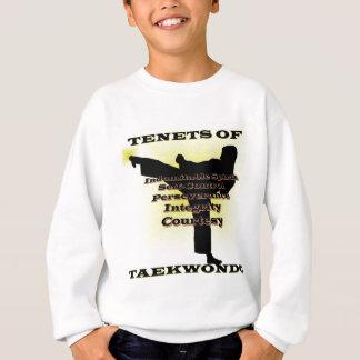 Tshirt Destaque do ouro dos princípios de TKD