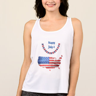 Tshirt Dia da Independência país dos EUA da bandeira