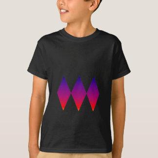 Tshirt Diamantes triplos