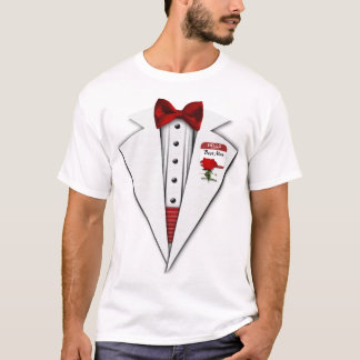 Tshirt Divertimento formal Wedding do melhor smoking