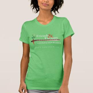 Tshirt do algodão das mulheres