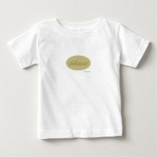Tshirt do bebê de Delicioso