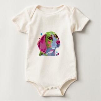 Tshirt do bebê do lebreiro