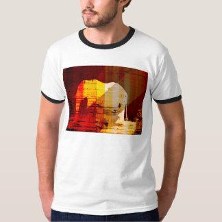 Tshirt do design do elefante