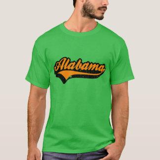 Tshirt do estado de Alabama E.U.
